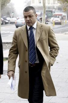 El propietario de Grupo Playa Sol, Fernando Ferré, durante el juicio celebrado este lunes