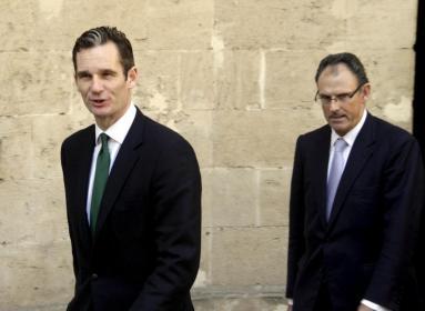 El presidente del Govern Balear, José Ramón Bauzá, en el acto de presentación de la Panerai celebrado ayer