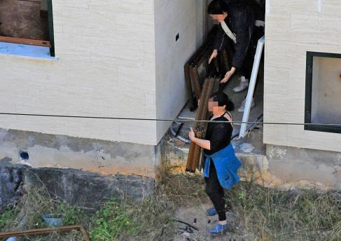 Imagen de archivo de la ocupación de la Conselleria d'Educación en mayo de 2012.