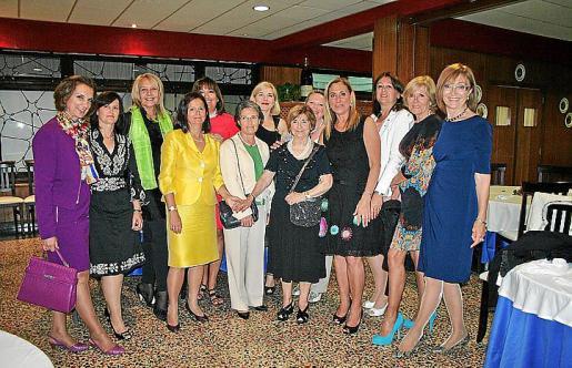 Los miembros de la candidatura de Volem Sant Lluís elegidos tras las primarias