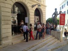 Celebración en la sede del PSM Ciutadella