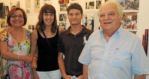 Ricard Ramisa, Miquel Plana i Isabel Rodríguez han presentat el concert a l'Ajuntament d'Alaior