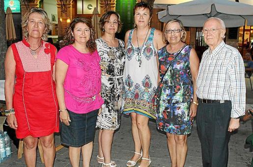 Vicenç Tur, Francina Armengol y Miquel Iceta