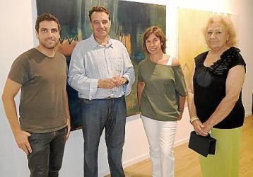 José Ramón Aranda, los ponentes Adolfo Vilafranca, Magda Pons-Quintana y Ferran Porto Vila y el moderador Josep Pons Fraga