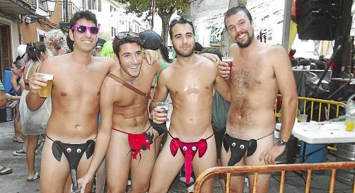 Un grupo de turistas del IMSERSO