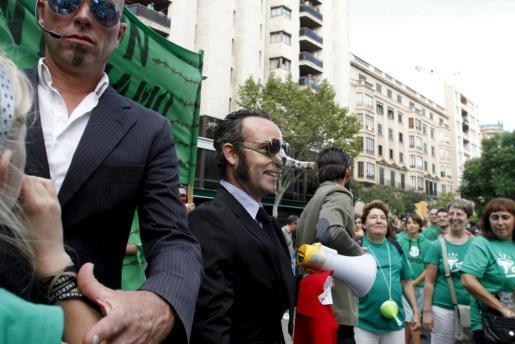 Andreu Ibáñez ya estuvo en la feria el año pasado, presentando las Google Glass