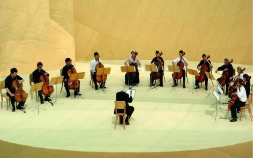 Menorca Mao Teatro Principal presentacion del Recital lirico dirigid
