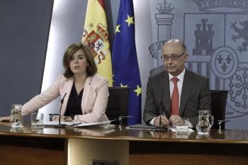 Presentación. Amador Rodríguez y Lázaro Criado expusieron ayer el balance de la acción promocional