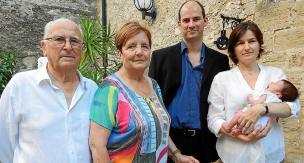 Directivos. Cavaller, Mesquida y Belmonte, ayer tras presentar la cuarta edición del Futures 2009