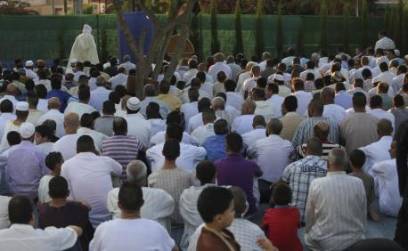 La plaça Constitució ha sido el epicentro de la celebración en Maó