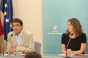 Una imagen de archivo del empresario Abel Matutes Juan acompañado de su esposa, Nieves Prats