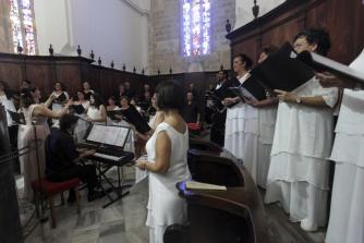 El Pavelló Menorca dio marco a la velada, que se prolongó sobre la