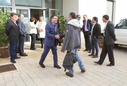 Imagen de archivo de un acto electoral de Més per Menorca