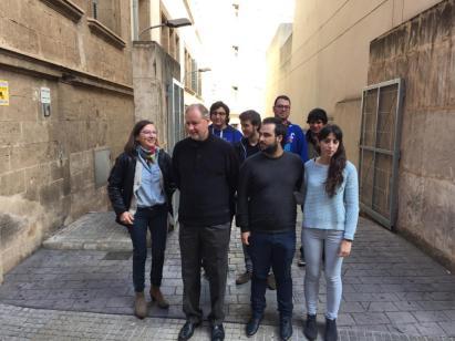 La formación de veteranas del Manresa, con López arriba