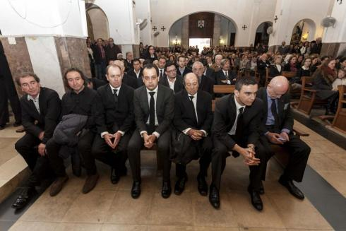 Berenar. Mar Rescalvo anuncià les intencions de l'OSIB durant el berenar que el Consell oferí als mitjans, en l'entrada del nou