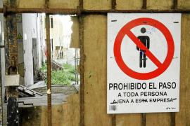 La falta de efectivos impidió a Protección Civil intervenir en el pasillo de Es Pla