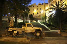 El Consell no esperará a los permisos para abrir el parking de Punta Nati