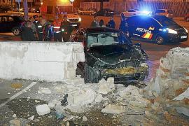 Colisión con dos heridos leves en de Sant Lluís
