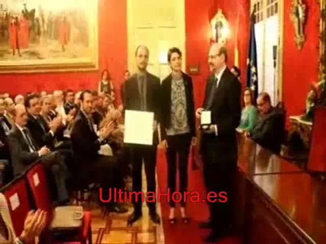 Joan Pons y el Principal reciben la Medalla de Oro en Bellas Artes