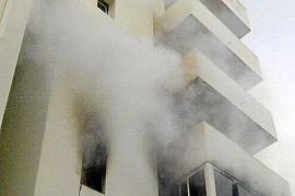 Muere un hombre en un incendio declarado en una finca de s'Arenal
