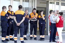El incendio de Fibralink en Maó afectó al servicio de 1.600 clientes