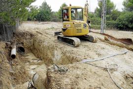 Las lluvias dejan hasta 137 litros por metro cuadrado en Menorca