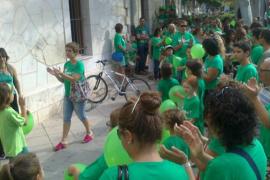 Joana Maria Camps: «Estoy tranquila porque cada billete corresponde a un acto»