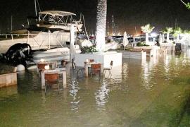 Detienen a tres jóvenes por quemar un contenedor en Cala en Blanes