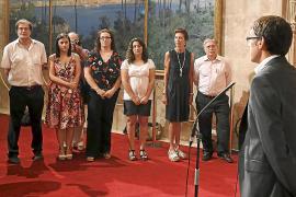 Otegi afirma que «los catalanes están haciendo historia» y que los vascos no les dejarán solos