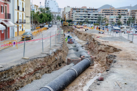Ametller plantea soterrar la carretera general en Es Mercadal