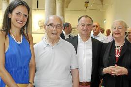 Marc Zúñiga, Neil Berry, Inna Lebeieva o Sara Gómez, en el estreno de la Milla Urbana de Alaior