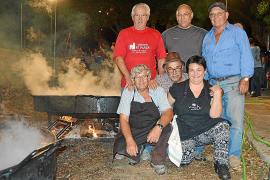 Aficionados madridistas en Ciutadella