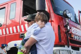 Policía Local, 112, Guardia Civil, bomberos y 061, movilizados para rescatar a una pareja en Rafalet