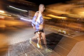 Unos 1.400 atletas de todas las edades participaron en la III carrera Nits de la Lluna Plena. Sant Lluís, 19 de agosto de 2016