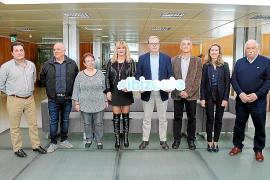 Que hace unos días la pareja de baile de Es Mercadal formada por Florencia Goñalons y José Granja....