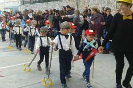 menorca ciutadella plaza de la catedral campanadas infantiles