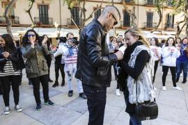 Una avalancha al paso de la procesión del Cautivo en Málaga deja dos heridos